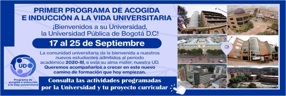 Programa de Acogida e Inducción a la Vida Universitaria 2020-III